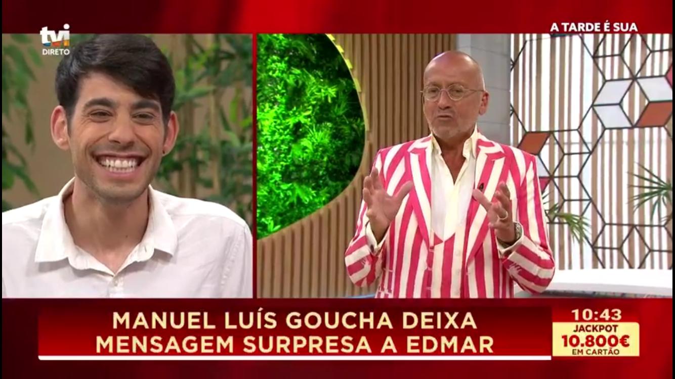 Edmar e Manuel Luis Goucha