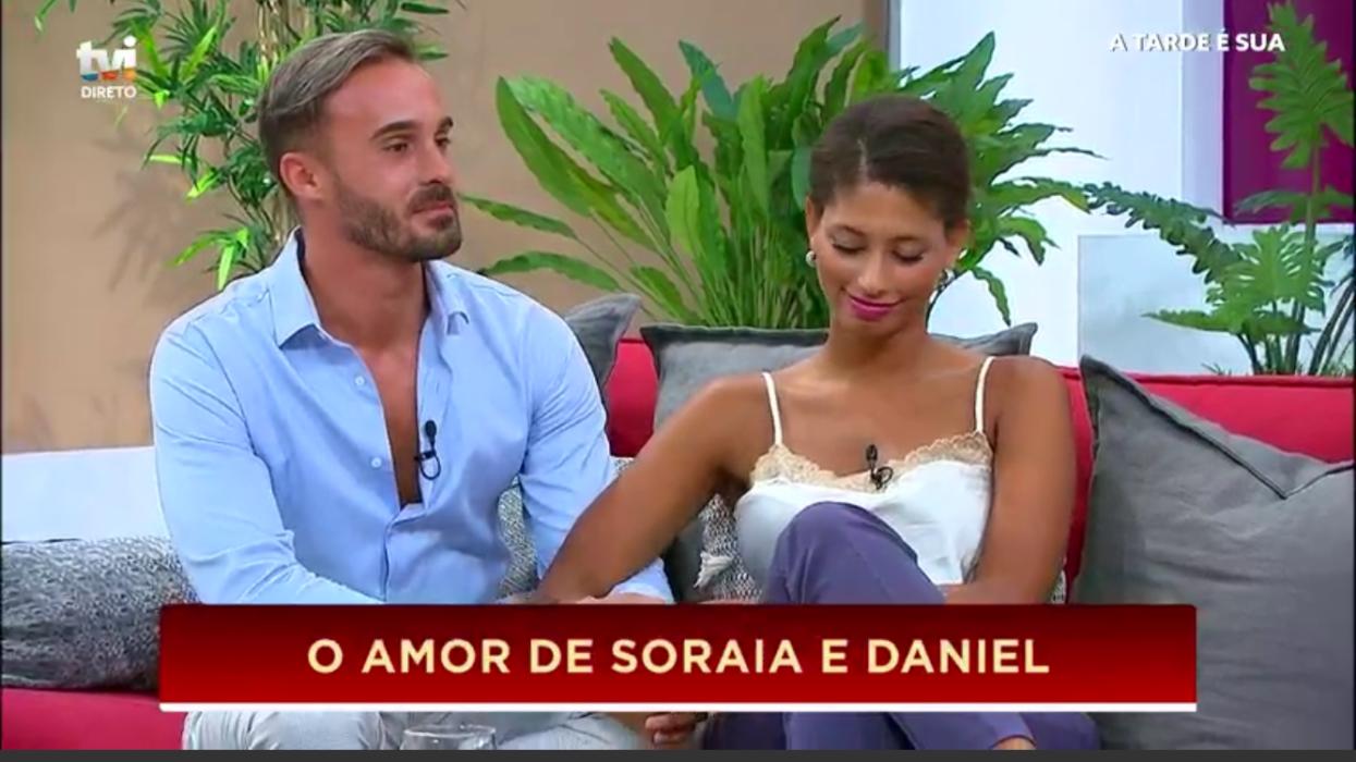 Daniel Guerreiro e Soraia