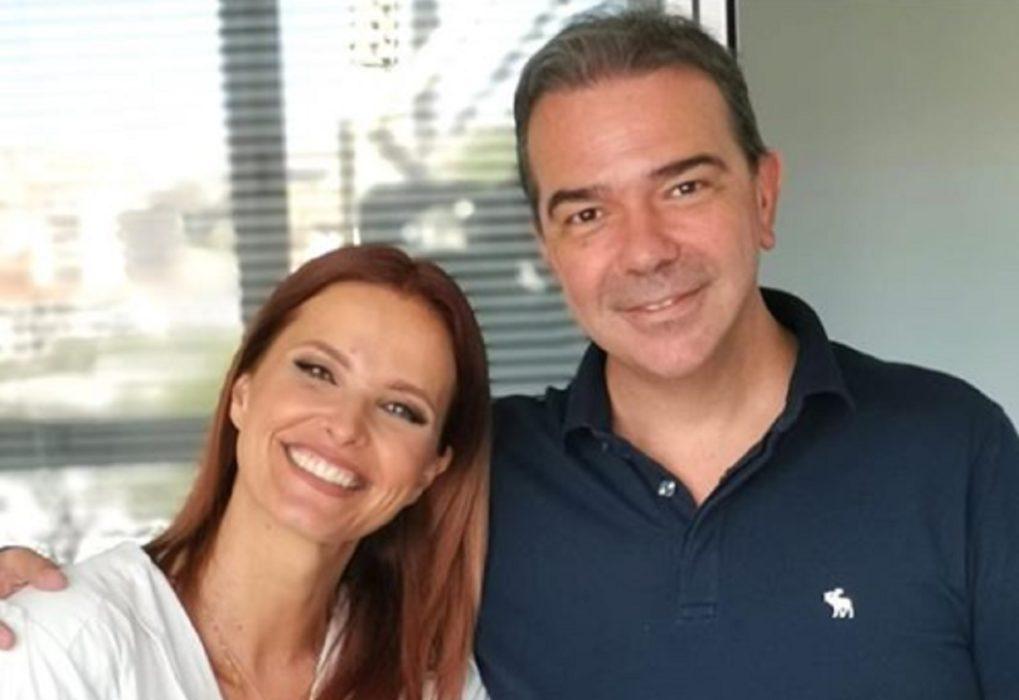Nuno Santos e Cristina Ferreira