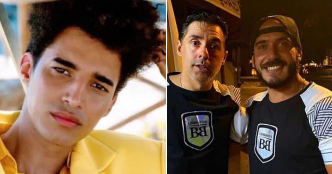 Luís Borges e Daniel Monteiro e Pedro Soá