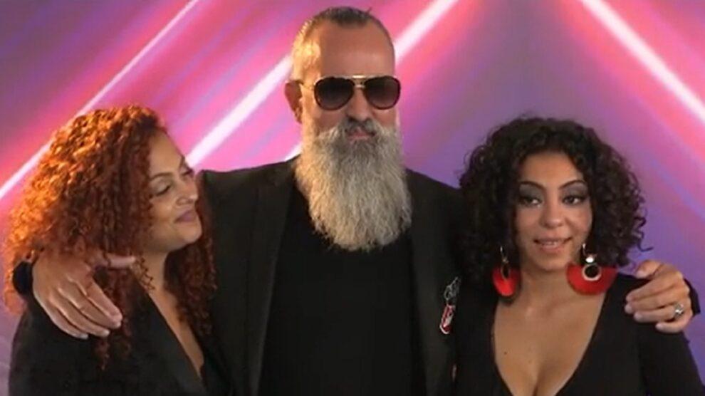 Sandra, Pedro e Jessica Fernandes