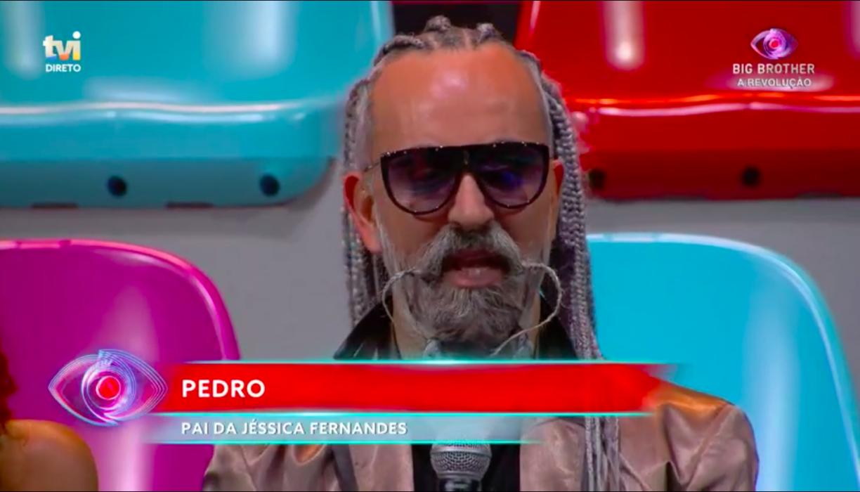Pedro pai de Jéssica Fernandes