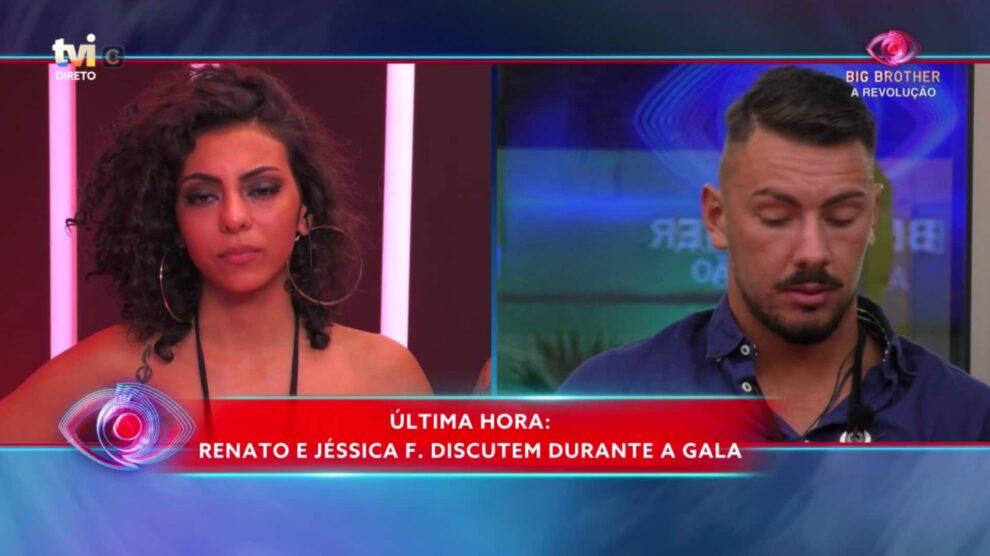 Jéssica Fernandes e Renato