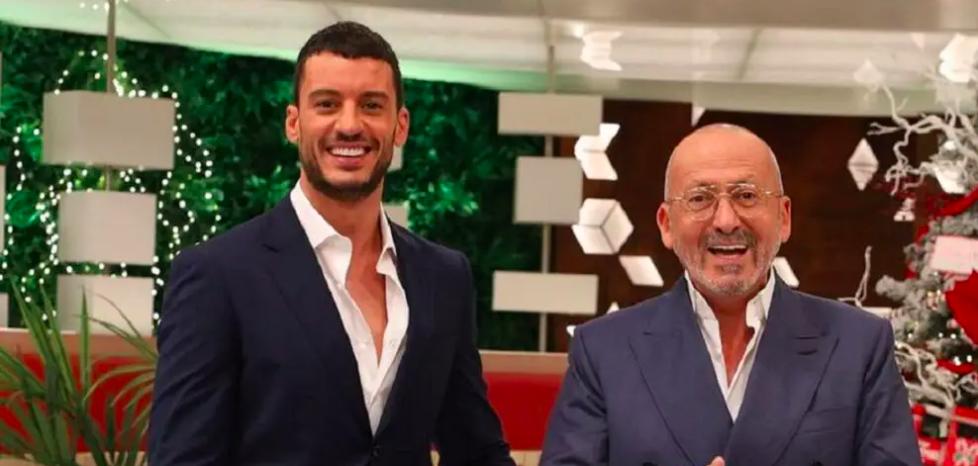 Ruben Rua e Manuel Luís Goucha