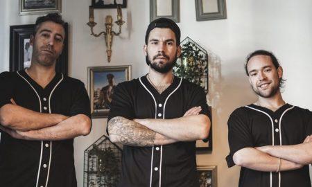 Lucas Fernandes, António Pedro e Diogo Filipe
