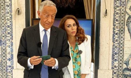 Filomena Cautela e Marcelo Rebelo de Sousa