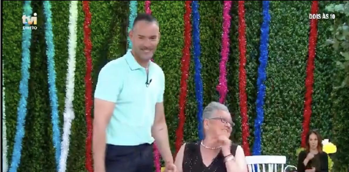 Cláudio Ramos e Dona ALda