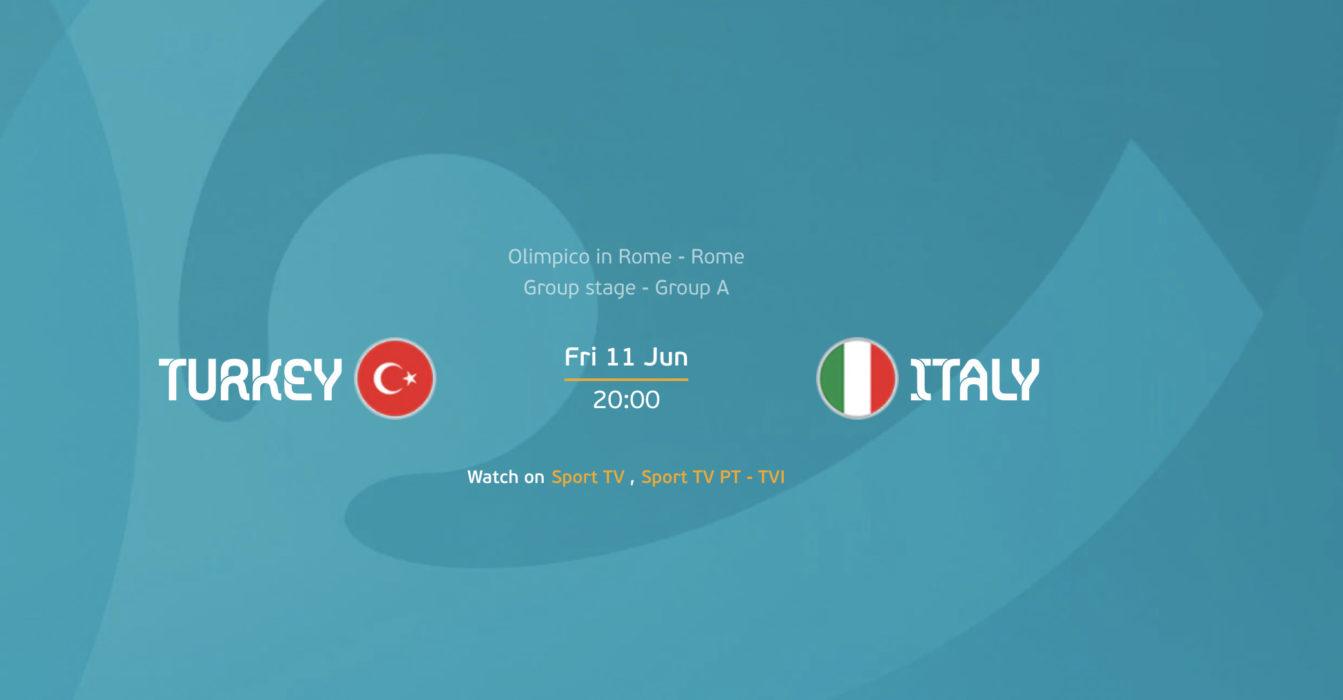 Euro 2020 - Italia x Turquia