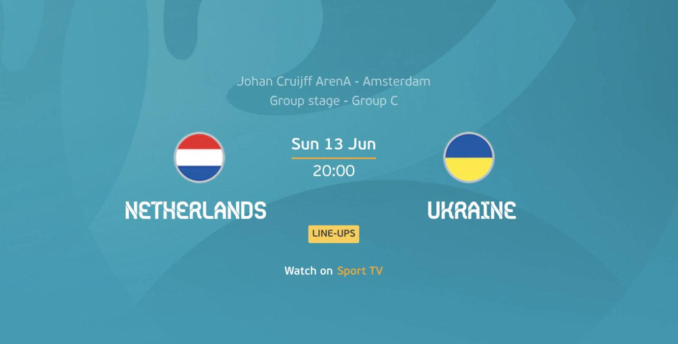 Euro 2020: Holanda x Ucrânia