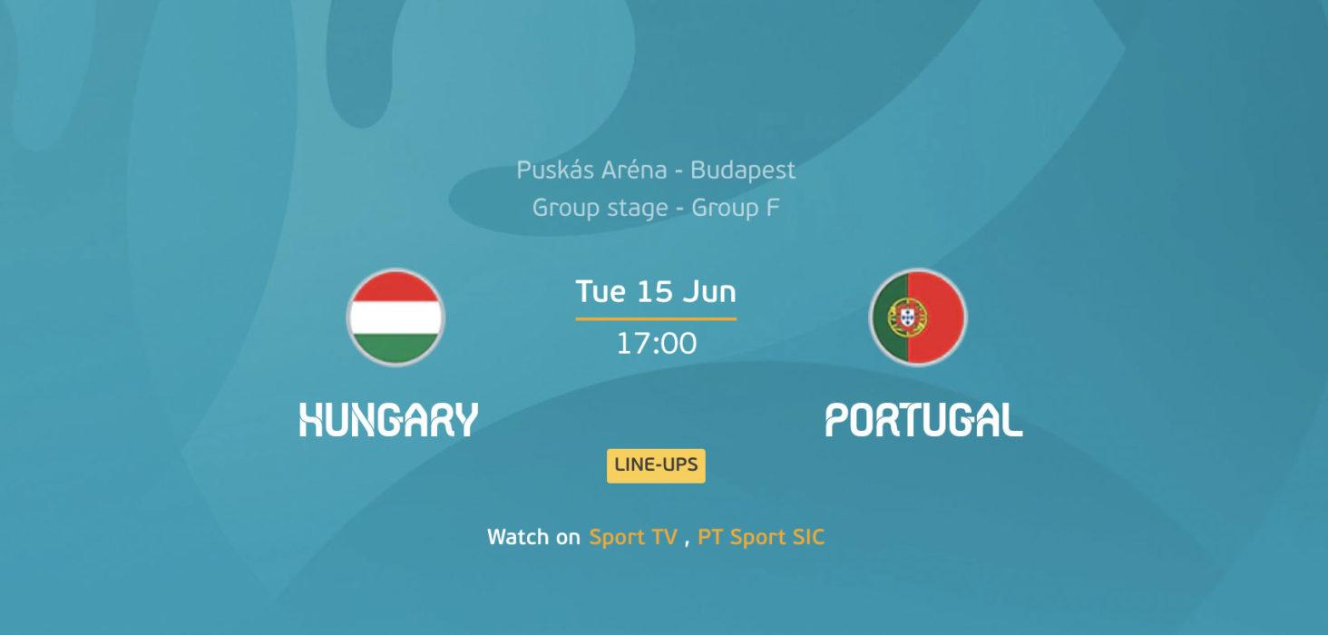Hungria x Portugal