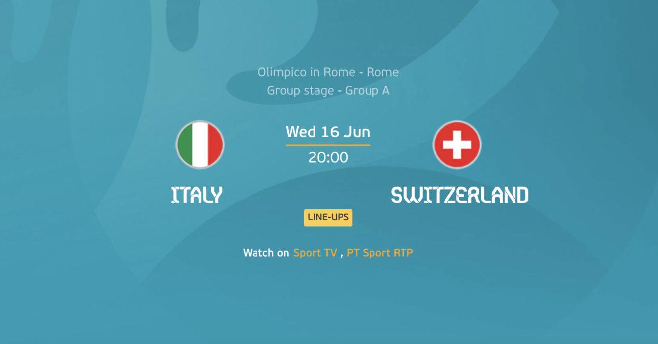 Itália x Suíça