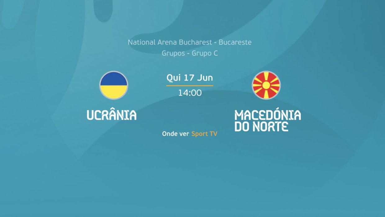 Ucrânia e Macedónia do Norte