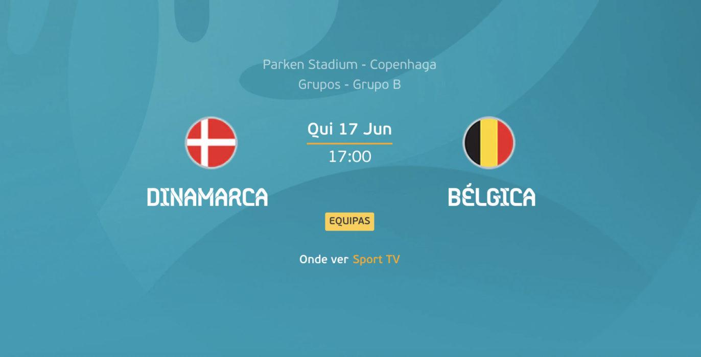 Dinamarca x Bélgica