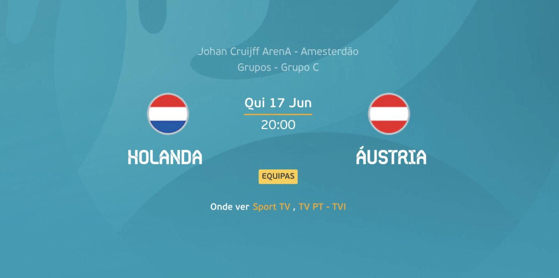 Holanda x Austria