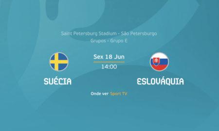 Suécia x Eslováquia