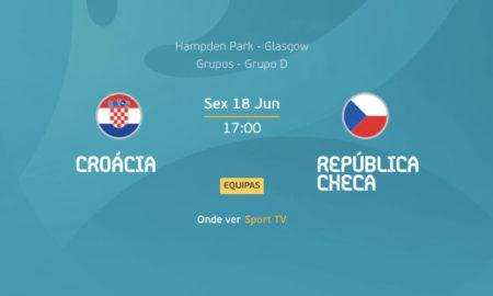 Croácia x República Checa