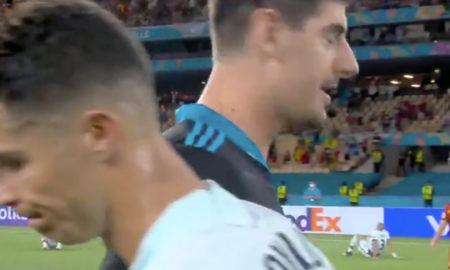 Ronaldo e Courtois
