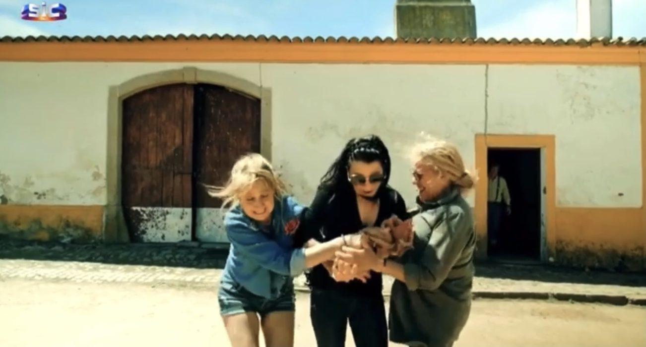 Ana, Andreia e Salomé