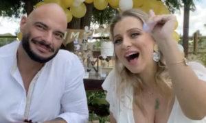 Andreia e marido