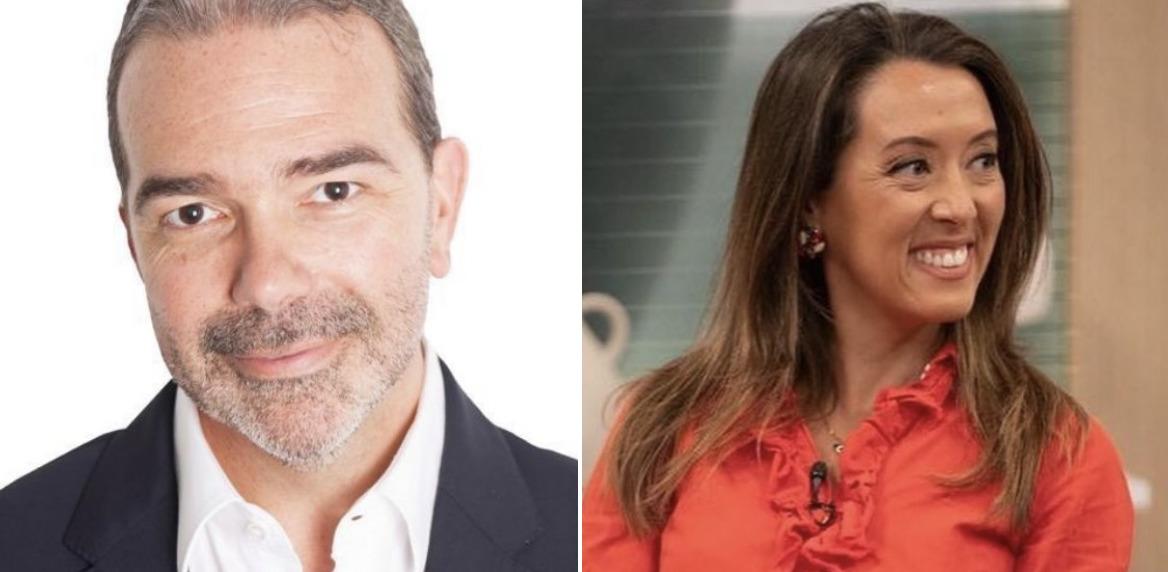 Marta Rangel e Nuno Santos