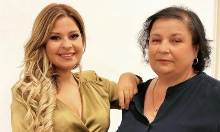 Sandrina Pratas e a mãe