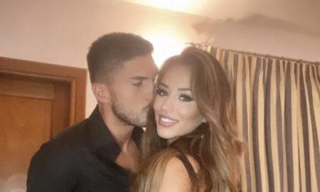 Jéssica Nogueira e namorado