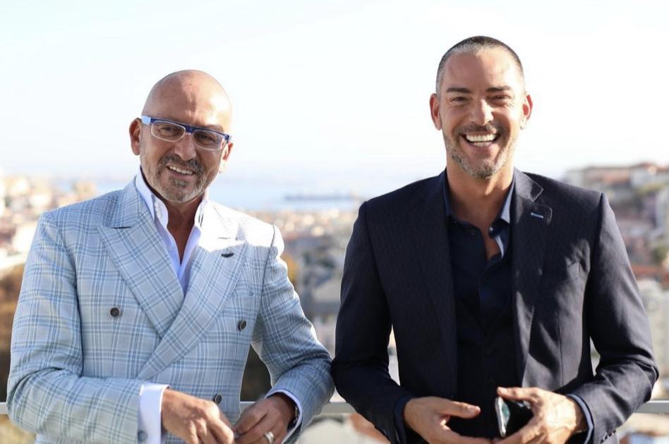 Goucha e Cláudio Ramos
