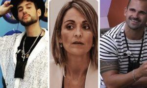 Bruno Almeida, Ana Morina e Rafael Teixeira