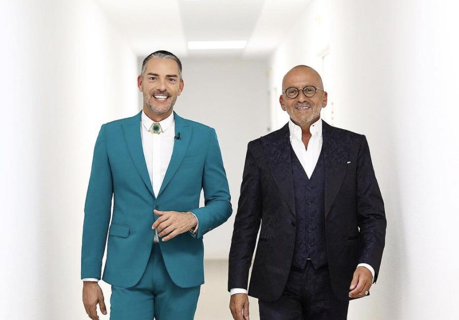 Cláudio Ramos e Goucha