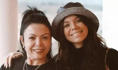 Mel Jordão e a mãe